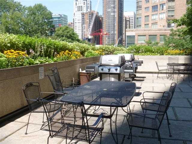 1001 Bay St BBQ Area