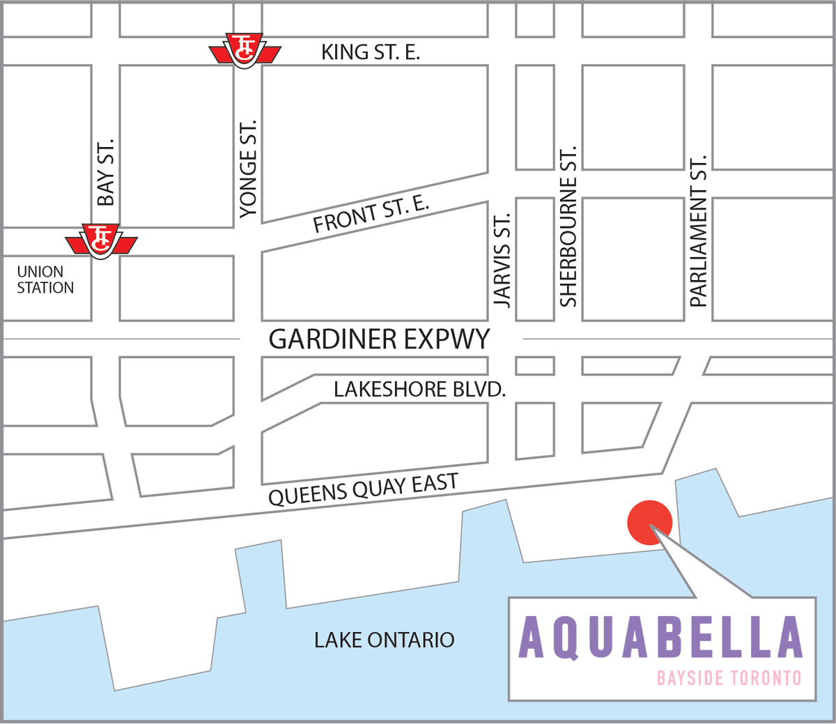 Aquabella  Location