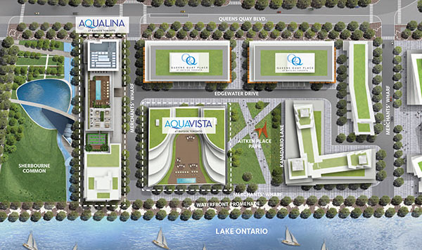 queens quay development